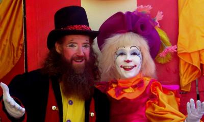 Taylor Family Circus Clowns