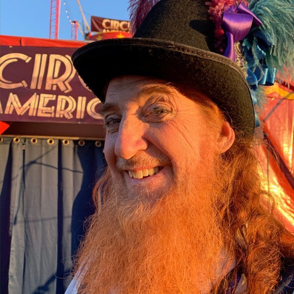 Circus Performer with Top Hat
